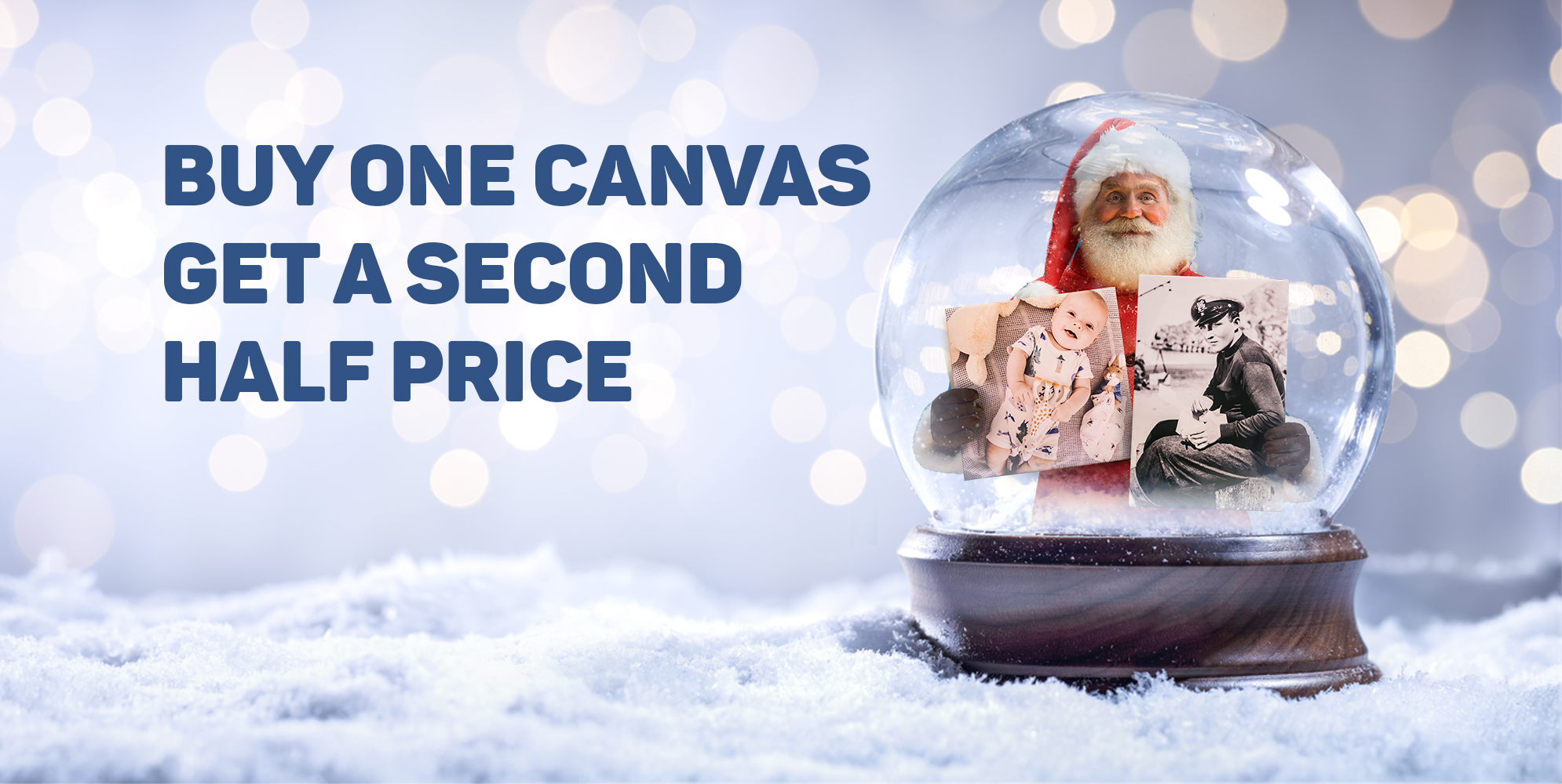 The Canvas Printing CompanyBuy One Canvas And Get A Second Half Price