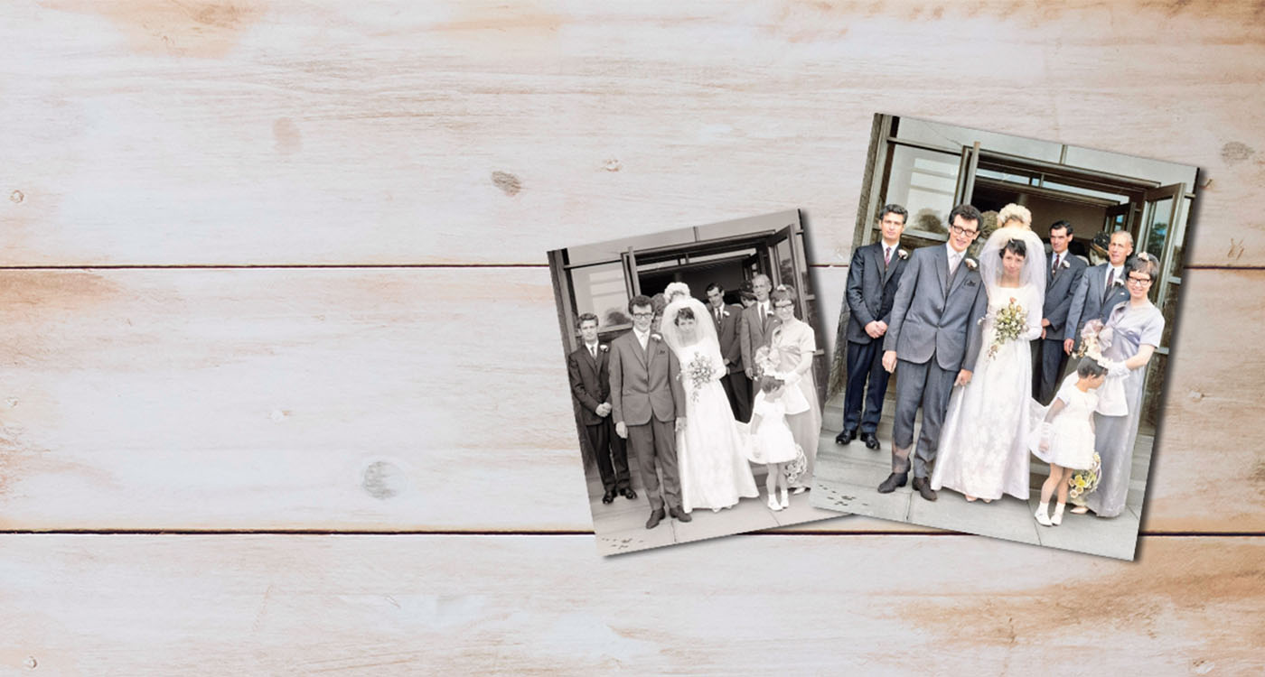 The Canvas Printing Company - Restoration Colourisation